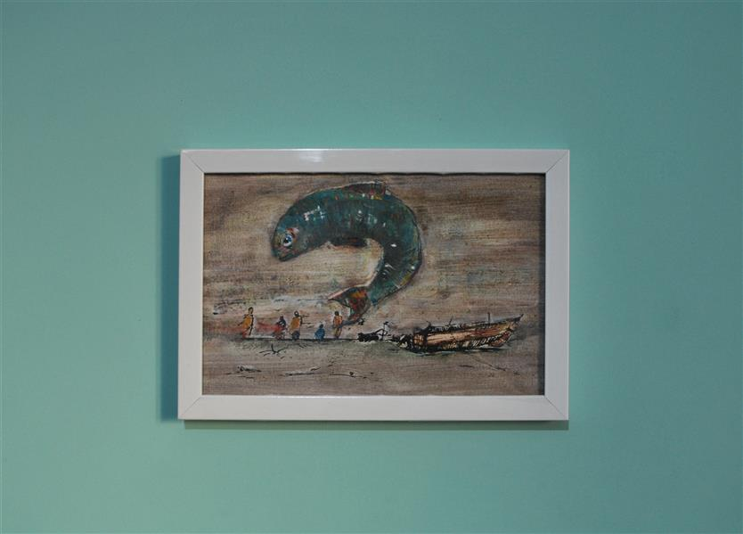هنر نقاشی و گرافیک محفل نقاشی و گرافیک گروه هنری منگنه نام اثر : وال  چاپ سیلک و اکرلیک #mangane_art#تابلو#نقاشی