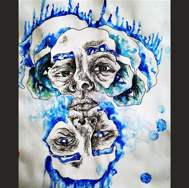 هنر نقاشی و گرافیک محفل نقاشی و گرافیک ستاره واحدی #هنر#هنرمند#طراحی #نقاشی#سفارش
