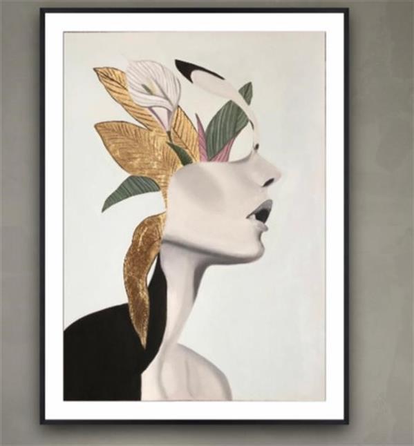 هنر نقاشی و گرافیک محفل نقاشی و گرافیک مریم فریدونی رنگ روغن  50*70