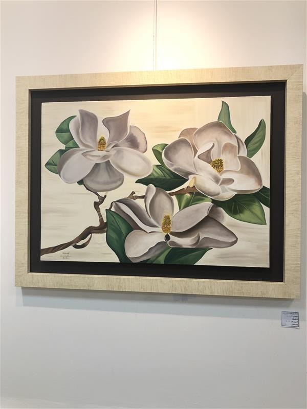 هنر نقاشی و گرافیک محفل نقاشی و گرافیک مریم فریدونی #رنگ_روغن سایز۵۰*۷۰