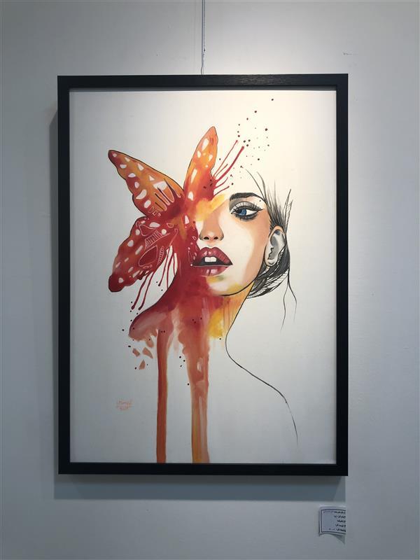 هنر نقاشی و گرافیک محفل نقاشی و گرافیک مریم فریدونی #رنگ_روغن سایز ۵۰*۷۰