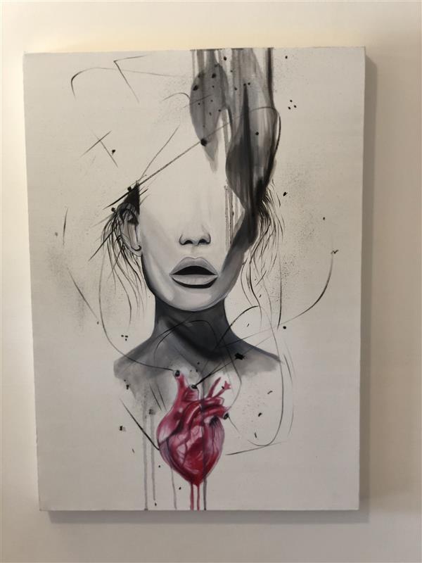 هنر نقاشی و گرافیک محفل نقاشی و گرافیک مریم فریدونی #فروخته_شد رنگ روغن ۵۰*۷۰