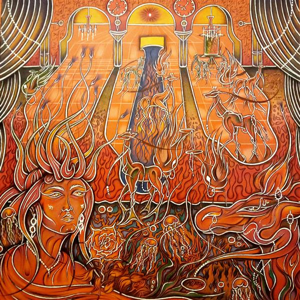 هنر نقاشی و گرافیک محفل نقاشی و گرافیک اشکان دژپرور عنوان: اگر زرافه بودم مدادرنگی و راپید سفید روی مقوا این ابعاد بدون قاب درنظر گرفته شده. ۱۳۹۹