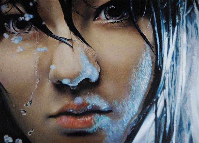 هنر نقاشی و گرافیک محفل نقاشی و گرافیک سمانه فخاری نقاشی، تکنیک رنگ روغن  Painting, oil paint technique Effect size: 58 * 38