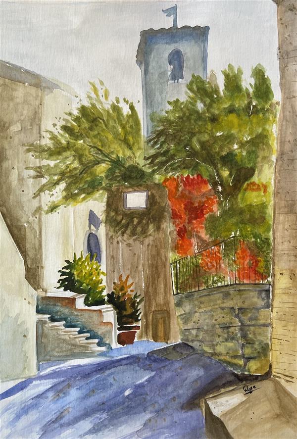 هنر نقاشی و گرافیک محفل نقاشی و گرافیک رویا فرخی صدقیانی آبرنگ، پاییز۹۸، رویا فرخی