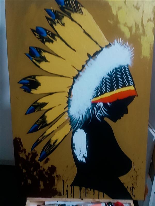 هنر نقاشی و گرافیک محفل نقاشی و گرافیک Rahajoudi70 #نقاشی–مدرن برجسته رنگ اکرولیک در ابعاد۶۰*۹۰