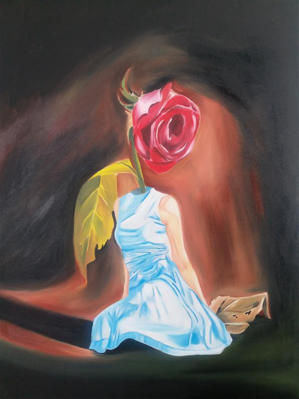 هنر نقاشی و گرافیک محفل نقاشی و گرافیک Rahajoudi70 رنگ روغن کار شده در ابعاد ۶۰*۹۰#سورئال