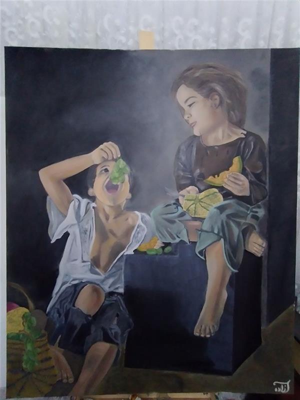 هنر نقاشی و گرافیک محفل نقاشی و گرافیک آزاده نوتاش فرد #رنگ_روغن روی بوم، سایز ۱۲۰×۱۰۰
