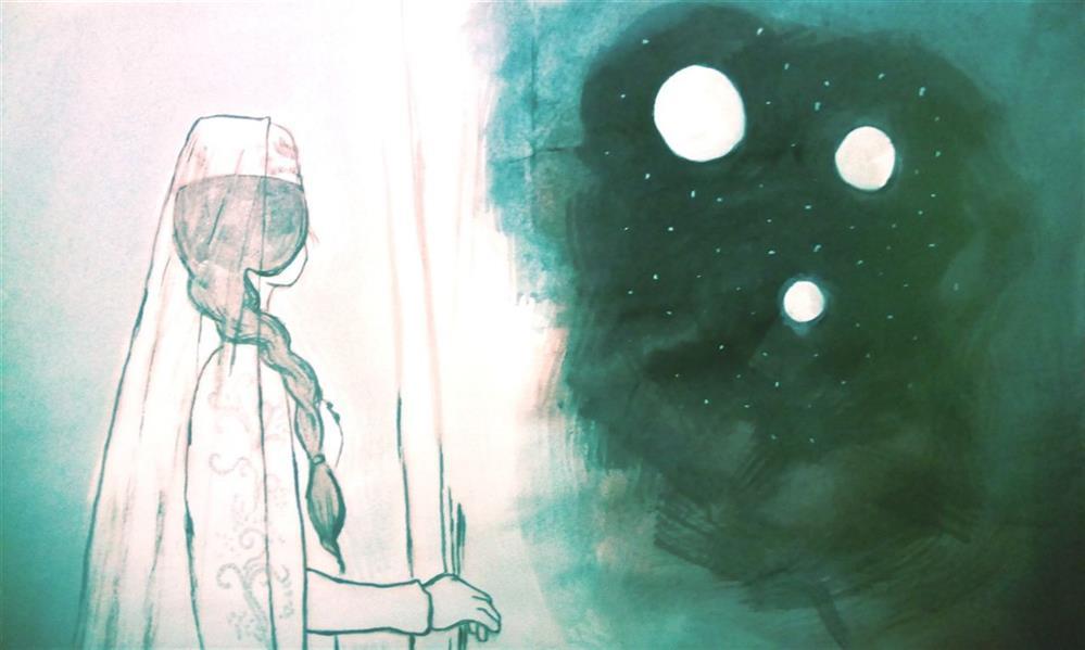 هنر نقاشی و گرافیک محفل نقاشی و گرافیک زهرا رئیسی آبرنگ و مرکب روی کاغذ