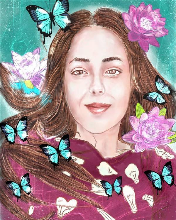 هنر نقاشی و گرافیک محفل نقاشی و گرافیک زهرا رئیسی نقاشی دیجیتال