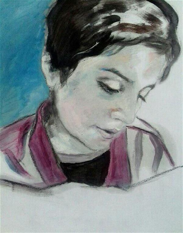 هنر نقاشی و گرافیک محفل نقاشی و گرافیک زهرا رئیسی رنگ روغن روی کاغذ