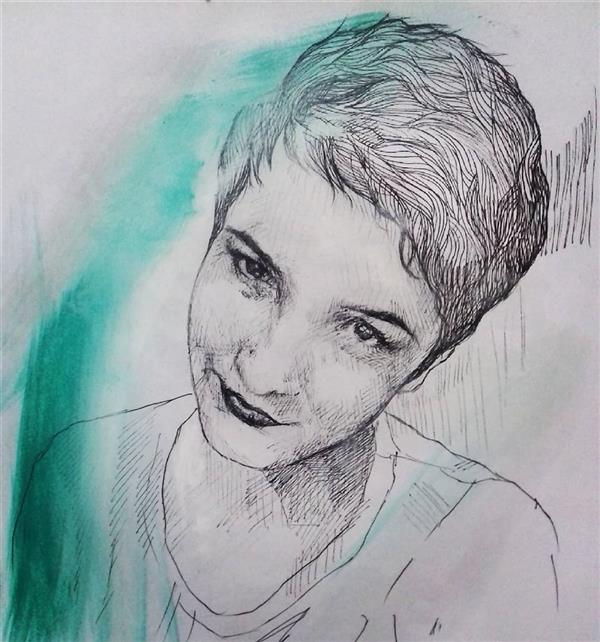 هنر نقاشی و گرافیک محفل نقاشی و گرافیک زهرا رئیسی راپید و رنگ روغن روی کاغذ