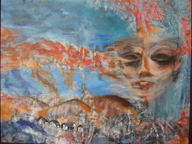 هنر نقاشی و گرافیک محفل نقاشی و گرافیک لیلا بهرامی #نقاشی#فروش#سفارش اندازه : ۷۰ × ۱۰۰ سبک : اکسپرسیونیسم انتزاعی  تکنیک : اکرولیک روی بوم #اورجینال با قاب