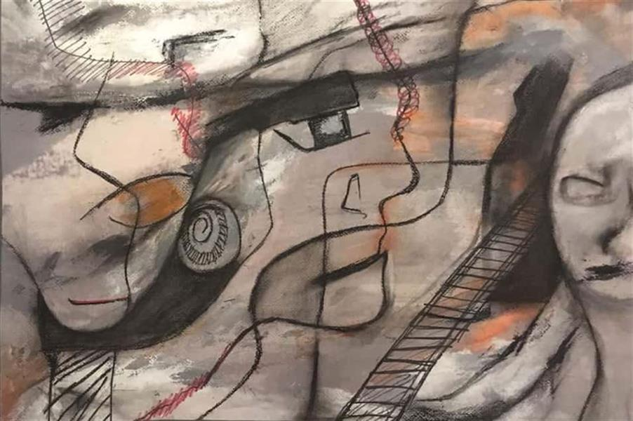 هنر نقاشی و گرافیک محفل نقاشی و گرافیک لیلا بهرامی اندازه : ۷۰ × ۵۰ سبک : اکسپرسیونیسم انتزاعی تکنیک : ترکیب مواد روی مقوا اورجینال بدون قاب