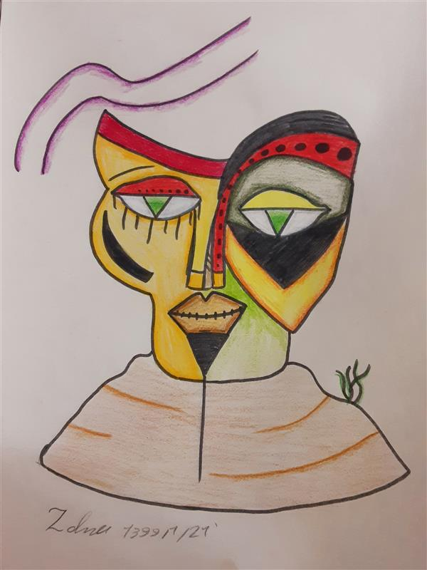 هنر نقاشی و گرافیک محفل نقاشی و گرافیک زهرا بالاکتفی-کوبیسم # کویر# کوبیسم# ذهن دیگر# هنر انتزاعی# پیکاسو# زهرا بالاکتفی# زهرا# بالاکتفی# نوجوان# هنر نوجوان