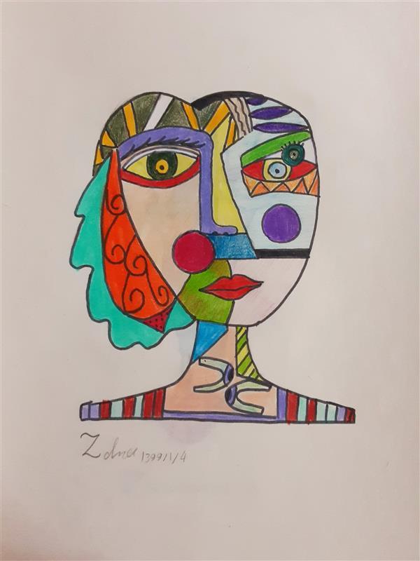 هنر نقاشی و گرافیک محفل نقاشی و گرافیک زهرا بالاکتفی-کوبیسم # کوبیسم# ذهن دگر# هنر# هنر انتزاعی# نوجوان# هنر نوجوان# زهرا# بالاکتفی# زهرا بالاکتفی