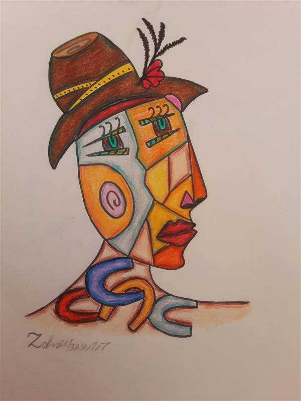هنر نقاشی و گرافیک محفل نقاشی و گرافیک زهرا بالاکتفی-کوبیسم # کوبیسم# زهرا# بالاکتفی# زهرا بالاکتفی# پیکاسو# نوجوان# هنرنوجوان# آینده