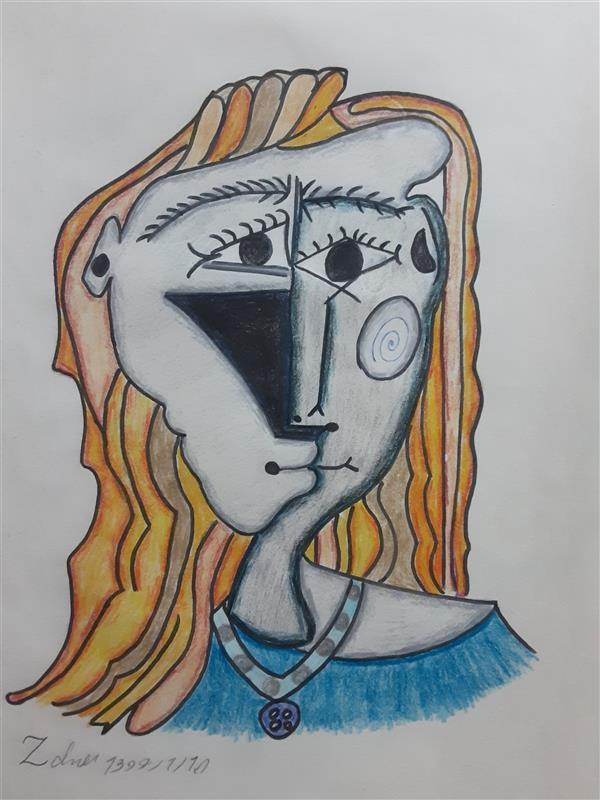 هنر نقاشی و گرافیک محفل نقاشی و گرافیک زهرا بالاکتفی-کوبیسم # کوبیسم# زهرا بالاکتفی# تصویر سازی# نوجوان# هنر نوجوان# هنر انتزاعی# انتزاع