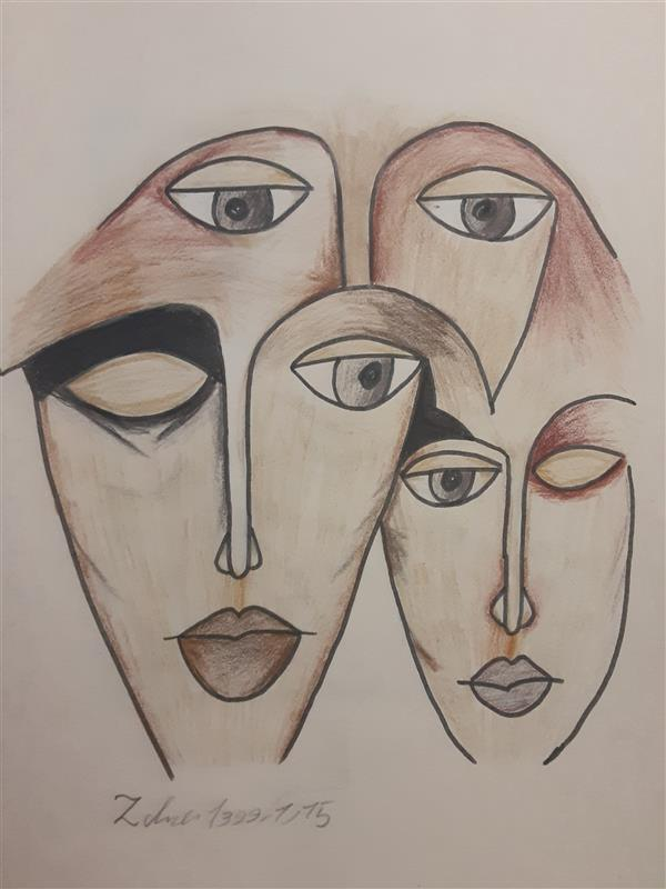 هنر نقاشی و گرافیک محفل نقاشی و گرافیک زهرا بالاکتفی-کوبیسم # کوبیسم# زهرا# بالاکتفی# هنر# هنرانتزاعی# کویر# زیبایی# زهرا بالاکتفی# نوجوان# هنر نوجوان