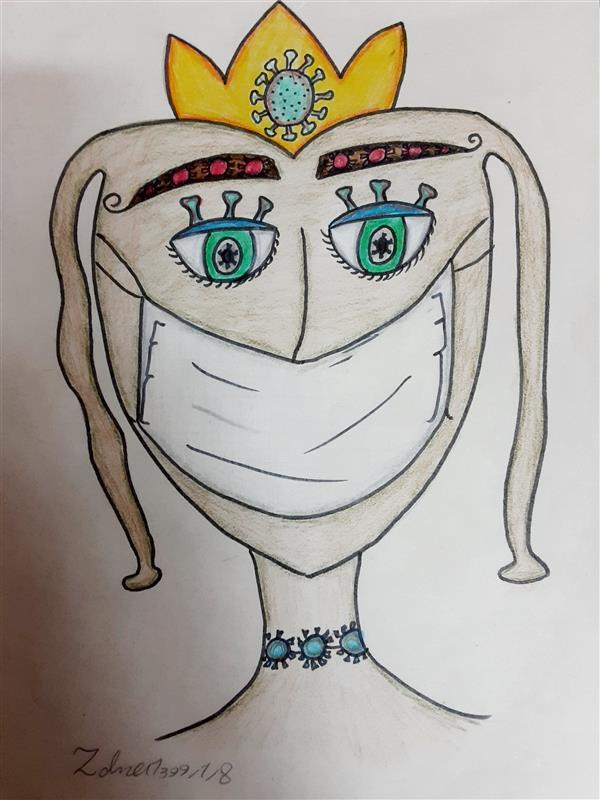 هنر نقاشی و گرافیک محفل نقاشی و گرافیک زهرا بالاکتفی-کوبیسم # کرونا# قرنطینه# زهرا بالاکتفی# نوجوان# هنر نوجوان# کوبیسم# تصویر سازی# هنر انتزاعی