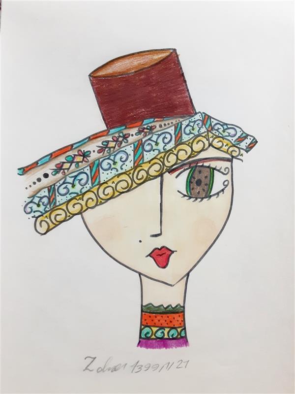 هنر نقاشی و گرافیک محفل نقاشی و گرافیک زهرا بالاکتفی-کوبیسم # سنت مدرن# زهرا بالاکتفی# نوجوان# هنر نوجوان# کوبیسم# تصویر سازی# هنر انتزاعی
