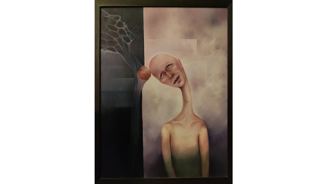 هنر نقاشی و گرافیک محفل نقاشی و گرافیک سمیه سریری نام اثر: حوا رنگ روغن