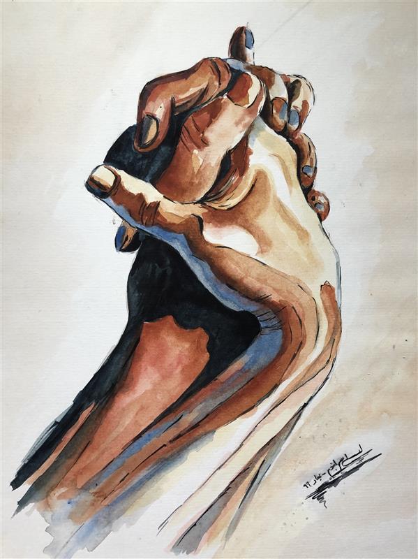 هنر نقاشی و گرافیک محفل نقاشی و گرافیک lili sarabandi تابلو دست ... بسیار زیبا  40 *30
