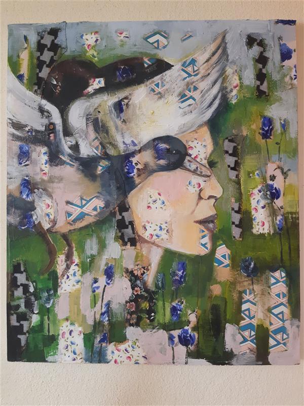 هنر نقاشی و گرافیک محفل نقاشی و گرافیک شقایق اصلاحی  #نقاشی #کلاژ #نقاشی_از_چهره #فروش_تابلوی_نقاشی #فروش_آثار_هنری #خرید_تابلوی_نقاشی