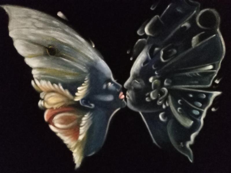 هنر نقاشی و گرافیک محفل نقاشی و گرافیک زهره شجاعیان فر  رنگ روغن #۵۰×۷۰#روی مخمل