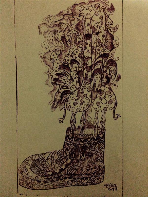 هنر نقاشی و گرافیک محفل نقاشی و گرافیک Negin Bayat نوع چاپ دستی: تلقی سبک: تصویرسازی ابعاد: A4