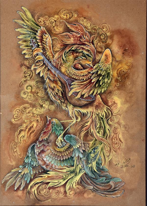 هنر نقاشی و گرافیک محفل نقاشی و گرافیک میلاد مهتابیان پور نوای مهربانی