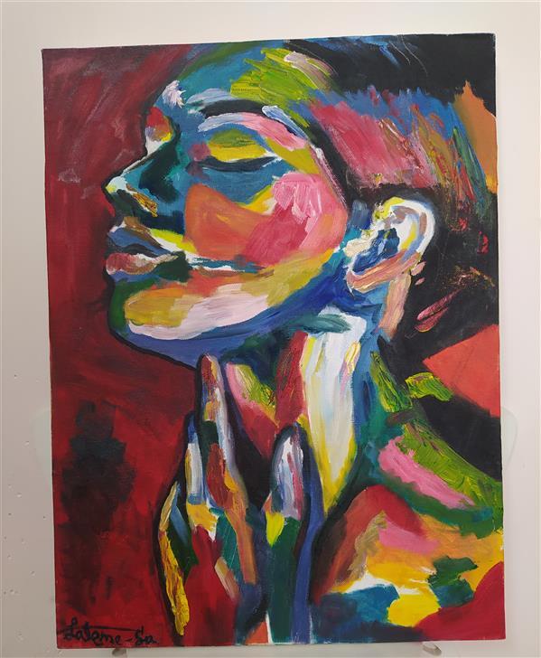 هنر نقاشی و گرافیک محفل نقاشی و گرافیک Fateme sadeghi #تابلو #رنگ_و_روغن سبک: #امپرسیونیسم اندازه: ۳۰×۴۰