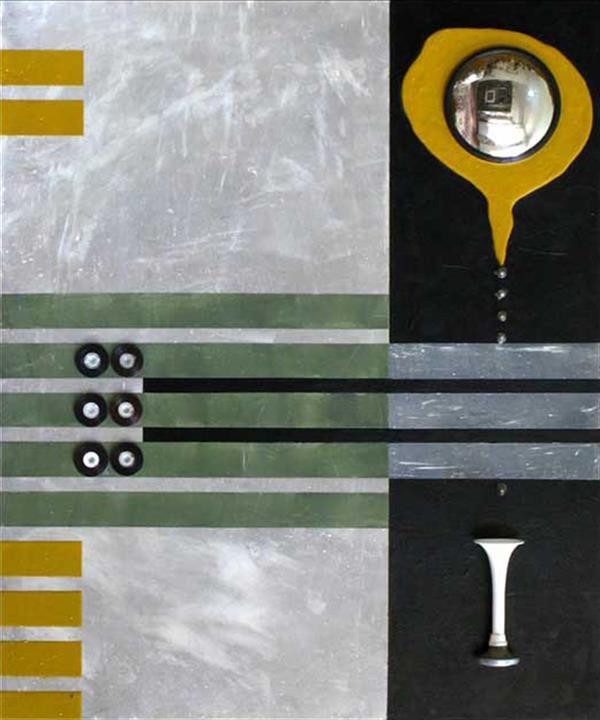 هنر نقاشی و گرافیک محفل نقاشی و گرافیک حجت اله عینی ترکیب مواد روی چند لای فرانسه - اندازه 100*85