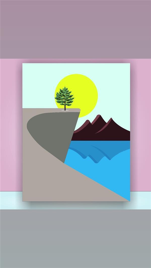 هنر نقاشی و گرافیک محفل نقاشی و گرافیک فاطمه غلامی پوستر گرافیکی ( طراحش خودمم ) (سفارش آنلاین چاپ عکس رو تخته شاسی ) از پوستر می توان در هر فضایی استفاده کرد. تنوع تصاویر پوسترها به قدری زیاد است که می توان طرحی متناسب برای هر مکان را از بین آن ها انتخاب کرد، مثلا برای یک محیط اداری می توان از طرح یک نقشه، یا نمای یک شهر استفاده نمود، البته انتخاب طرح بستگی به نوع کاربرد محیط دارد گرچه این انتخاب امری سلیقه ای می باشد ولی بهتر است انتخاب پوستر با دکوراسیون تناسب داشته باشد، . .هنگامی که تصمیم می گیریم تغییری در دکوراسیون داخلی منزل خود ایجاد کنیم، ذهن مان متوجه مبلمان، فرش و یا شاید پرده ها خواهد شد. اینکه آیا می توانیم با توجه به بودجه ای که در اختیار داریم آنها را عوض کنیم؟!می خواهیم به شما یادآوری کنیم که از اهمیت وسایل دکوری در خانه غافل نشوید. تغییر و یا اضافه کردن چند تابلو به دیوارها می تواند حال و هوای جدیدی را به خانه شما ببخشد. نیازی نیست که برای تنوع دست به عوض کردن اجزای بزرگ و اصلی خانه بزنید. یک بار امتحان کنید و تغییرات ایجاد شده توسط تابلو ها را در خانه تان ببینید.