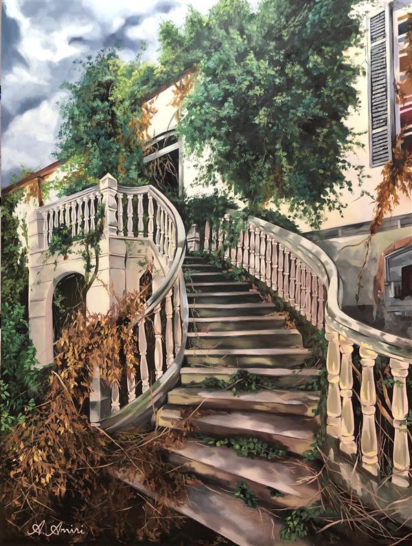 هنر نقاشی و گرافیک محفل نقاشی و گرافیک A Amiri نقاشی رنگ روغن  ابعاد ۸۰*۶۰ سانتی متر  عنوان اثر: #ویلای #متروکه تصویر واقعی ساختمانی متروکه اطراف #اروپا که #زیبایی طبیعی موجود در چنین مکان های #فراموش-شده ای را نشان می دهد.