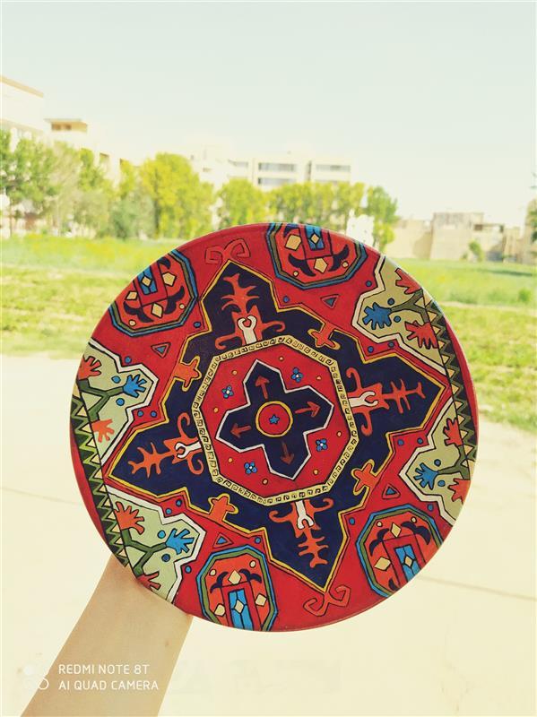 هنر نقاشی و گرافیک محفل نقاشی و گرافیک نادیا صابروند #دیوارکوب  #سفالی #نقاشی #گلیم #ارزان #دیواری