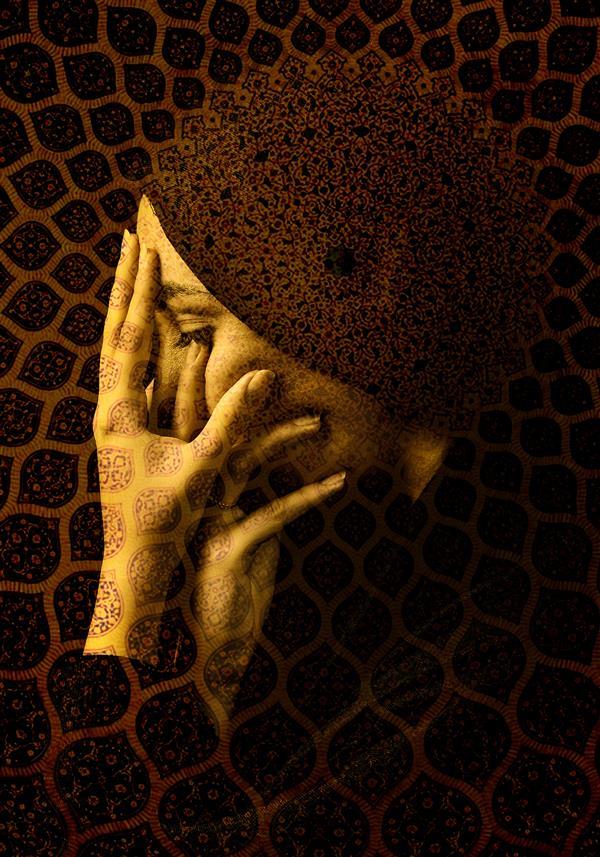 هنر نقاشی و گرافیک محفل نقاشی و گرافیک نغمه رضیان نام اثر: پیله سبک فتوآرت ۷۰×۱۰۰