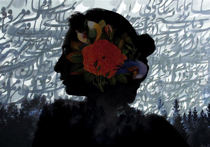 هنر نقاشی و گرافیک محفل نقاشی و گرافیک نغمه رضیان نام اثر:افسانه سبک فتوآرت ۷۰×۱۰۰