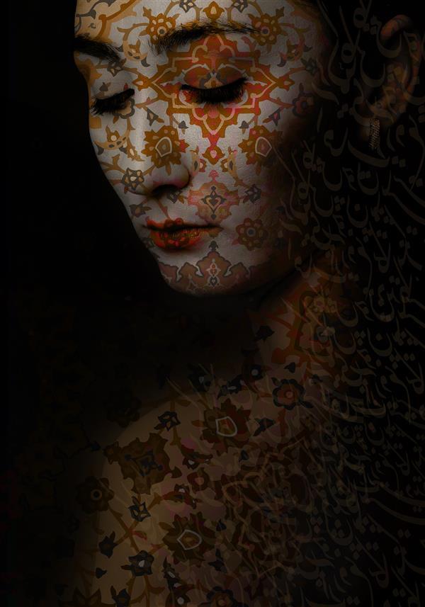 هنر نقاشی و گرافیک محفل نقاشی و گرافیک نغمه رضیان نام اثر: پاییز سبک فتوآرت ۷۰×۱۰۰