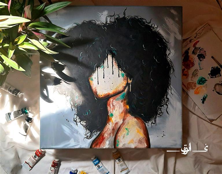 هنر نقاشی و گرافیک محفل نقاشی و گرافیک نادیا صبوری  #نقاشی رنگ روغن