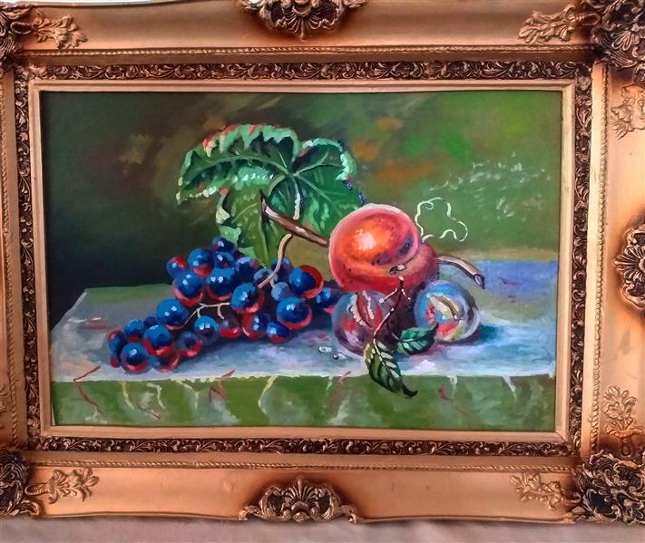 هنر نقاشی و گرافیک محفل نقاشی و گرافیک  مرتضی اطهری نسب سایز تابلو۶۰×۴۰   رنگ روغن
