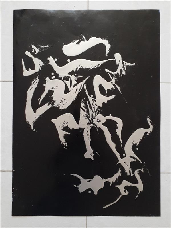 هنر نقاشی و گرافیک محفل نقاشی و گرافیک حسین نوحی زادگان نقاشی ابستره ابعاد ۵۰×۷۰ مزایده