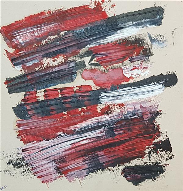 هنر نقاشی و گرافیک محفل نقاشی و گرافیک سباکرمی ابعاد_19×20 cm (ابعاد قاب و پاسپارتو لحاظ نشده است ابعاد ذکرشده صرفا ابعاد خود اثرهستند.) متریال_ #رنگ روغن نام اثر_ عبور نام هنرمند_ سباکرمی