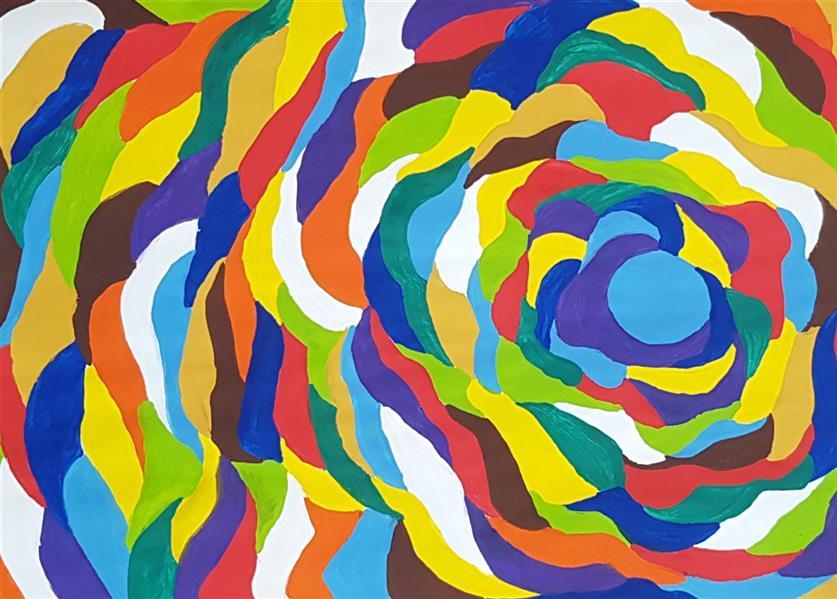 هنر نقاشی و گرافیک محفل نقاشی و گرافیک سباکرمی ابعاد_ 21×29/7 cm (ابعاد قاب و پاسپارتو لحاظ نشده است ابعاد ذکرشده صرفا ابعاد خود اثر هستند) متریال_ گواش نام اثر_ قوس نام هنرمند_ سباکرمی
