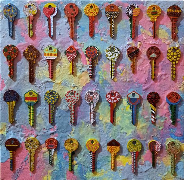 هنر نقاشی و گرافیک محفل نقاشی و گرافیک سباکرمی متریال-اکلریک و کلید سال خلق-1399 نام اثر-بی عنوان نام هنرمند- سباکرمی