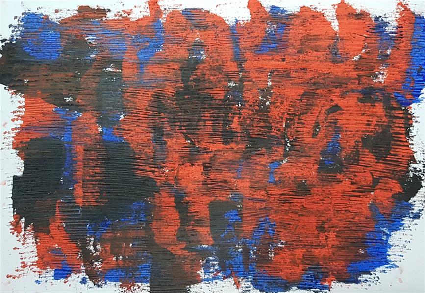 هنر نقاشی و گرافیک محفل نقاشی و گرافیک سباکرمی ابعاد_ 21×29/7 cm (ابعاد قاب و پاسپارتو لحاظ نشده است ابعاد ذکرشده صرفا ابعاد خود اثرهستند.) متریال_ #رنگ روغن نام اثر_خشم نام هنرمند_سباکرمی
