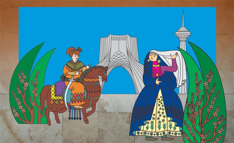 هنر نقاشی و گرافیک محفل نقاشی و گرافیک  الهام باقری تابلو؛گذری برزمان،اورجینال.تکنیک :پرینت روی سنگ.طرح حالت پازل کنارهم چیده میشود،مناسب برای نمای ساختمان ولابی. #نقاشی#پرینت_سنگ#نمای_ساختمان#لابی#فروش_تابلو#تابلو_سنگی#100honar#art_elhambagheri