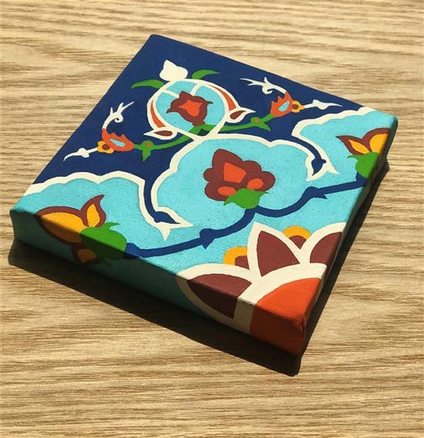 هنر نقاشی و گرافیک محفل نقاشی و گرافیک  الهام باقری تابلو:طرح کاشی،تکنیک:اکرولیک. سال خلق اثر:99 #نقاشی#اکرولیک#طرح_کاشی#فروش_تابلو#تابلو_نقاشی#100honar#art_elhambagheri