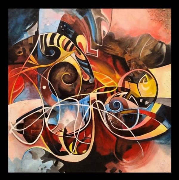 هنر نقاشی و گرافیک محفل نقاشی و گرافیک  الهام باقری تابلو :میکس مدیا. ابعاد:۸۰×۸۰.تکنیک:اکرولیک. #نقاشی #دکوراتیو #تابلو_فروشی #اکسپلور_اینستاگرام #art_elhambagheri#