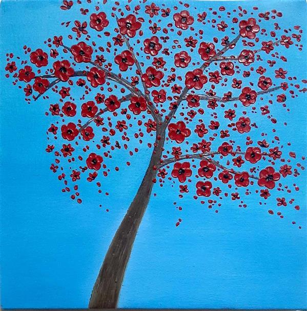 هنر نقاشی و گرافیک محفل نقاشی و گرافیک Elham fadaei #تابلو_رنگ_روغن بدون قاب #نقاشی_مدرن #هنر #رنگ_روغن